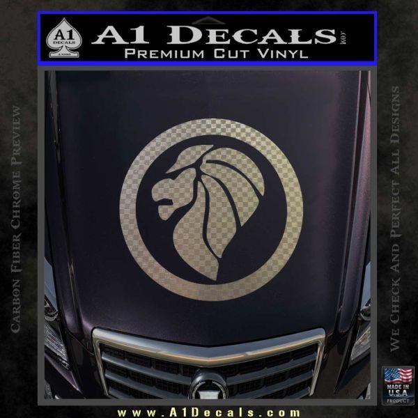 Lion Head Emblem Decal Sticker Cr A1 Decals