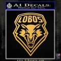 Lobos New Mexico NM D1 Decal Sticker 15 120x120