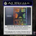 Made USA Decal Sticker Glitter Sparkle 120x120