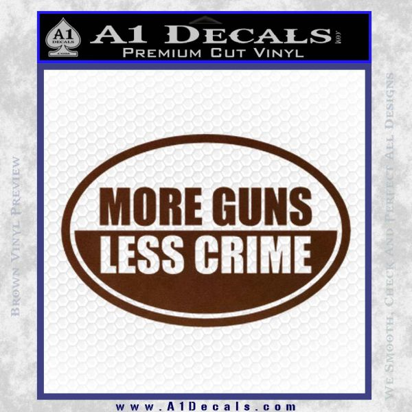 more guns less crime What makes 'more guns, less crime' special is lott's uncanny ability to weave economic concepts with gun policy the power of this text lies in its ability to make any economist or casual observer of economics feel at home.