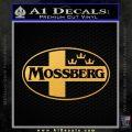 Mossberg Firearms D2 Decal Sticker Gold Vinyl 120x120