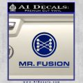 Mr Fusion Back To The Future Decal Sticker Blue Vinyl 120x120