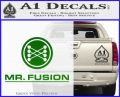 Mr Fusion Back To The Future Decal Sticker Green Vinyl Logo 120x97