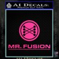Mr Fusion Back To The Future Decal Sticker Pink Hot Vinyl 120x120