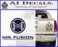 Mr Fusion Back To The Future Decal Sticker PurpleEmblem Logo 120x97