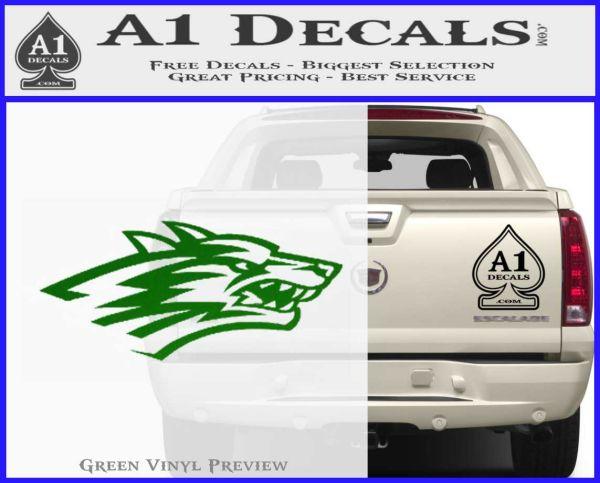 3 X New Mexico Lobos Car Bumper Vinyl Sticker Decal