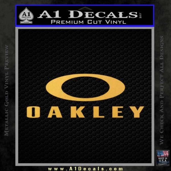 oakley decals