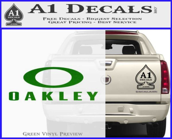 oakley stickers for cars