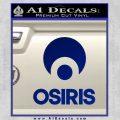 Osiris Shoes Decal Sticker Full Blue Vinyl 120x120