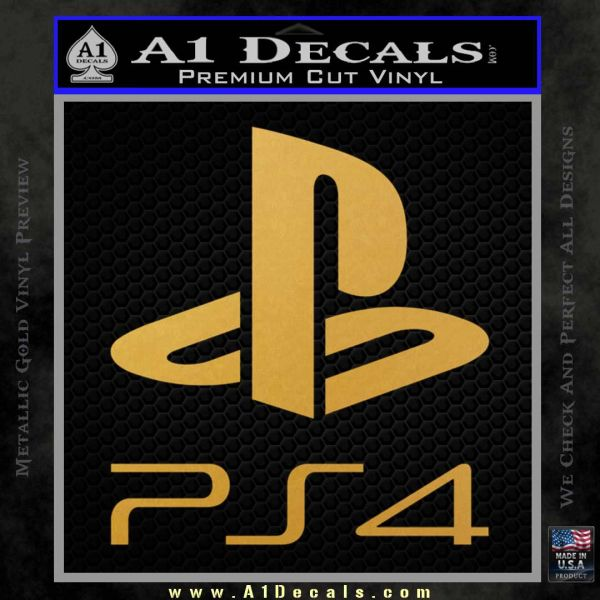 Ps4 Playstation 4 Stacked Decal Sticker 187 A1 Decals