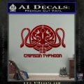 Pacific Rim Crimson Typhoon Decal Sticker DRD Vinyl 120x120