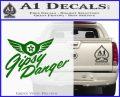 Pacific Rim Gipsy Danger Decal Sticker Green Vinyl Logo 120x97