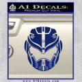 Pacific Rim Helmet Pilot Decal Sticker Blue Vinyl 120x120