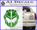 Pacific Rim Helmet Pilot Decal Sticker Green Vinyl Logo 120x97