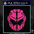 Pacific Rim Helmet Pilot Decal Sticker Pink Hot Vinyl 120x120
