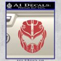 Pacific Rim Helmet Pilot Decal Sticker Red 120x120