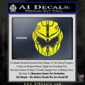 Pacific Rim Helmet Pilot Decal Sticker Yellow Laptop 120x120