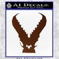 Pacific Rim Kaiju Decal Sticker BROWN Vinyl 120x120