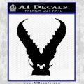 Pacific Rim Kaiju Decal Sticker Black Vinyl 120x120