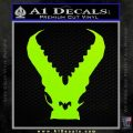 Pacific Rim Kaiju Decal Sticker Lime Green Vinyl 120x120
