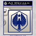 Pacific Rim Pan Pacific Defense Corps Decal Sticker Blue Vinyl 120x120