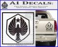 Pacific Rim Pan Pacific Defense Corps Decal Sticker Carbon FIber Black Vinyl 120x97
