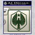 Pacific Rim Pan Pacific Defense Corps Decal Sticker Dark Green Vinyl 120x120
