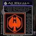 Pacific Rim Pan Pacific Defense Corps Decal Sticker Orange Emblem 120x120