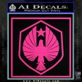 Pacific Rim Pan Pacific Defense Corps Decal Sticker Pink Hot Vinyl 120x120