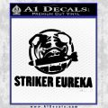 Pacific Rim Striker Eureka Decal Sticker Black Vinyl 120x120