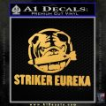 Pacific Rim Striker Eureka Decal Sticker Gold Vinyl 120x120