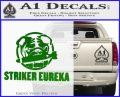 Pacific Rim Striker Eureka Decal Sticker Green Vinyl Logo 120x97