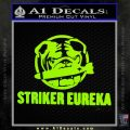 Pacific Rim Striker Eureka Decal Sticker Lime Green Vinyl 120x120