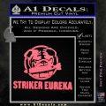 Pacific Rim Striker Eureka Decal Sticker Pink Emblem 120x120