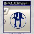 Panty Drop CR Decal Sticker Blue Vinyl 120x120