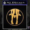 Panty Drop CR Decal Sticker Gold Vinyl 120x120