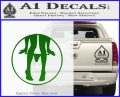Panty Drop CR Decal Sticker Green Vinyl Logo 120x97