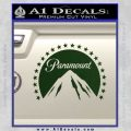 Paramount Movie Logo D1 Decal Sticker Dark Green Vinyl 120x120