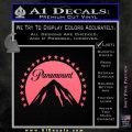 Paramount Movie Logo D1 Decal Sticker Pink Emblem 120x120
