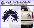 Paramount Movie Logo D1 Decal Sticker PurpleEmblem Logo 120x97