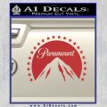 Paramount Movie Logo D1 Decal Sticker Red 120x120
