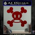 Paul Frank Skurvy Skull Decal Sticker DRD Vinyl 120x120