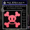 Paul Frank Skurvy Skull Decal Sticker Pink Emblem 120x120