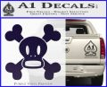 Paul Frank Skurvy Skull Decal Sticker PurpleEmblem Logo 120x97