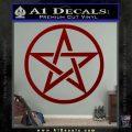 Pentacle Pentagram Decal Sticker DRD Vinyl 120x120