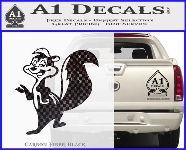 Pepe Le Pew Decal Sticker 187 A1 Decals