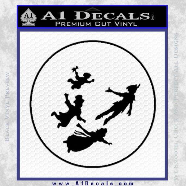 Peter Pan Kids Flying D1 Decal Sticker » A1 Decals