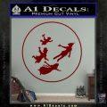 Peter Pan Kids Flying D1 Decal Sticker DRD Vinyl 120x120