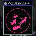 Peter Pan Kids Flying D1 Decal Sticker Pink Hot Vinyl 120x120