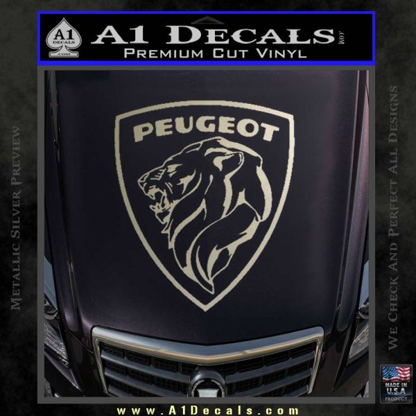 peugeot 1960s decal sticker 187 a1 decals